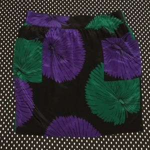 Anthropologie Silence + Noise Silk Mini Skirt M